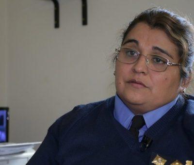 María Eugenia Ochoa se encuentra a cargo de la Comisaría de la Mujer. Gentileza diario Huarpe